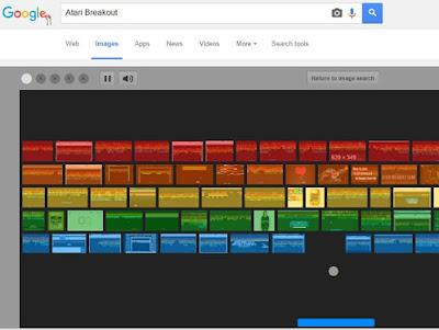 Bermain Atari Breakout