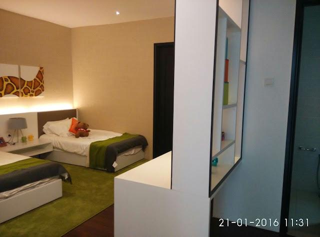 4 Storey Twin Courtyard Villa , Contours Melawati Height , Type D