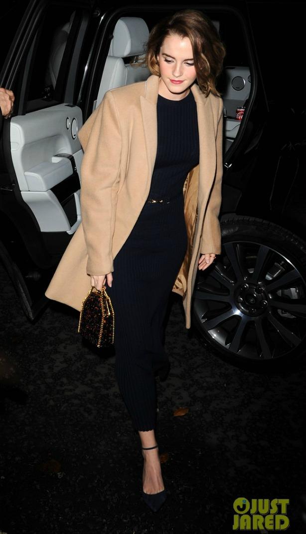 Estilo fashionista de Emma Watson