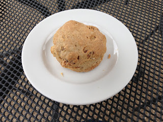Coffee and walnut scone Nostell