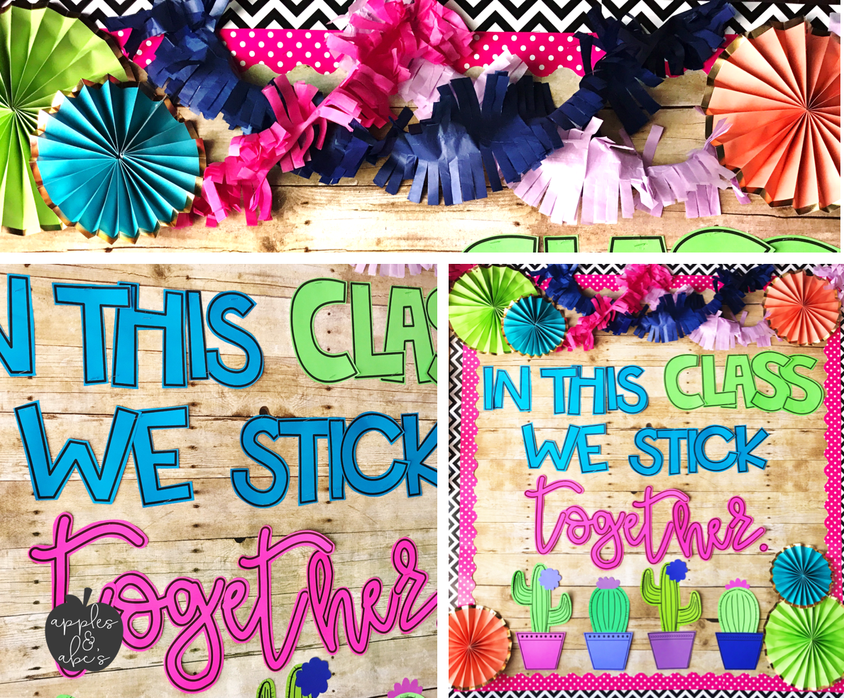 Classroom Decoration Cactus ~ Cactus classroom decor apples and abc s