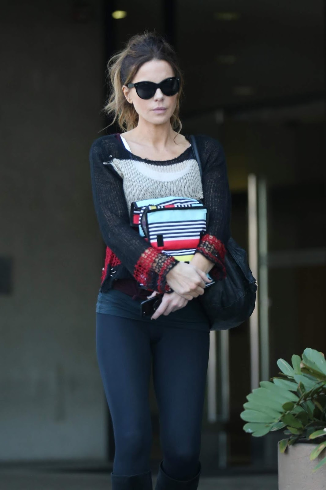 Kate Beckinsale - looks lean and fit leaving a medical building in LA - 02/08/2019