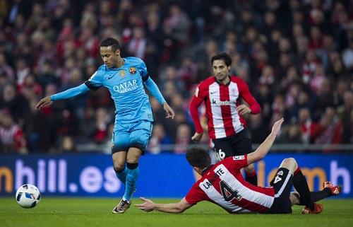 Athletic Bilbao có trận đấu quả cảm trước sức tấn công mạnh mẽ của Barca