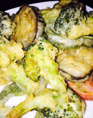 Tempura de verduras - Receta