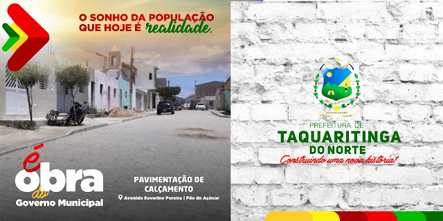 Grandes obras de pavimentação em todo município