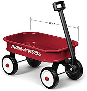 Radio Flyer Little Red Toy Wagon - Length