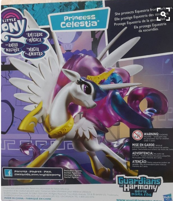 MLP Guardians of Harmony Box - Celestia