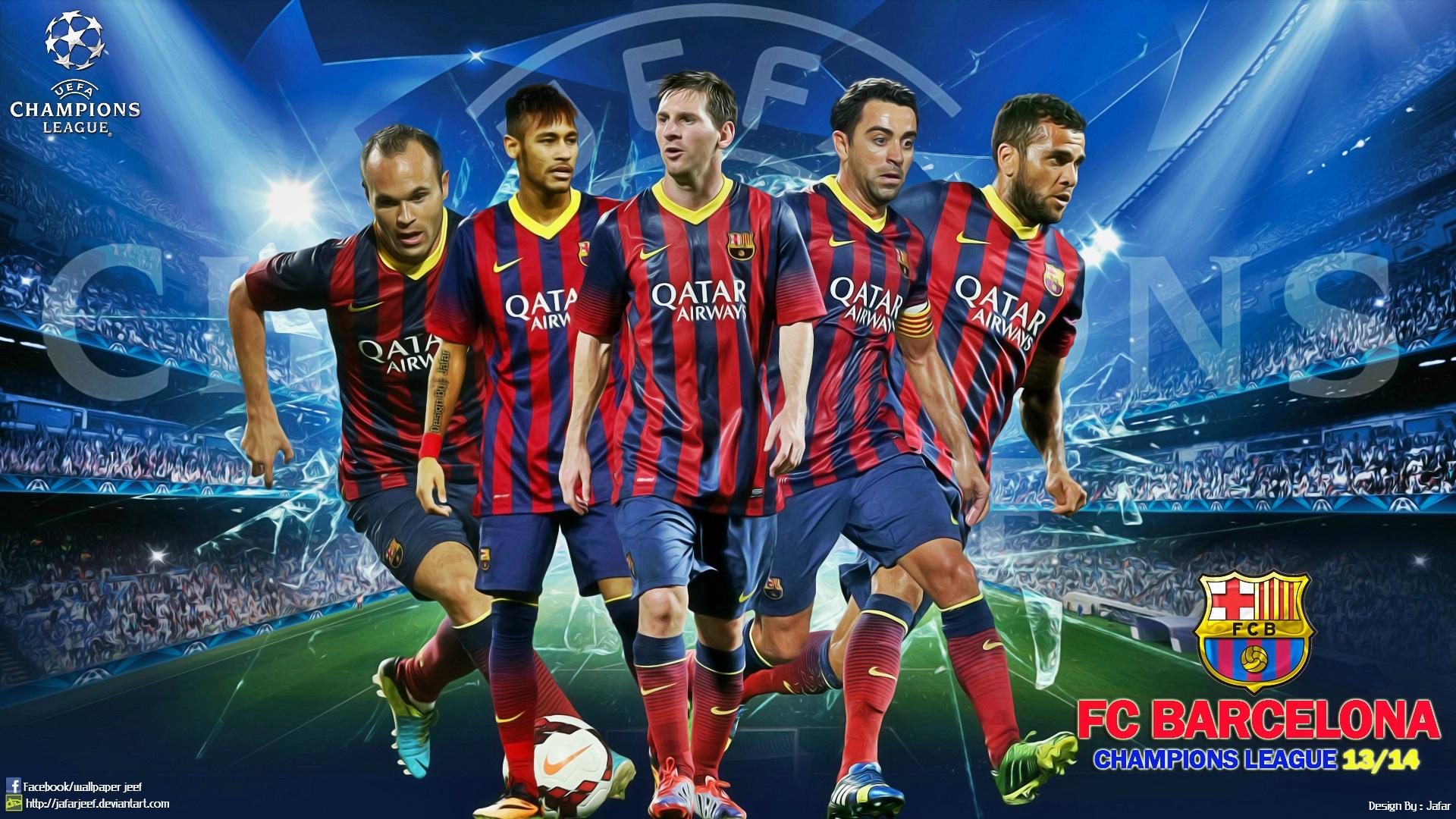 fcb champions league