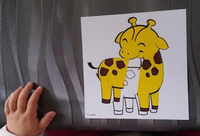 girafe de chipette