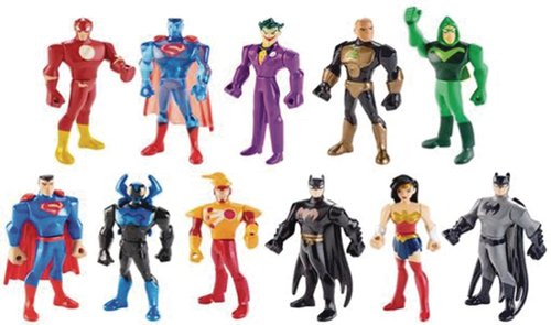 Mattel Justice League Action Cartoon Figures
