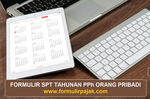 SPT Tahunan 1770 Excel