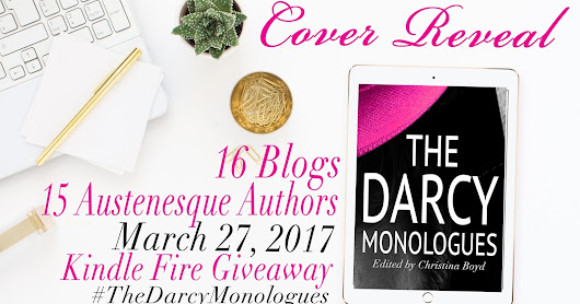 **GIVEAWAY** The Darcy Monologues - Cover Reveal - Pre-order link