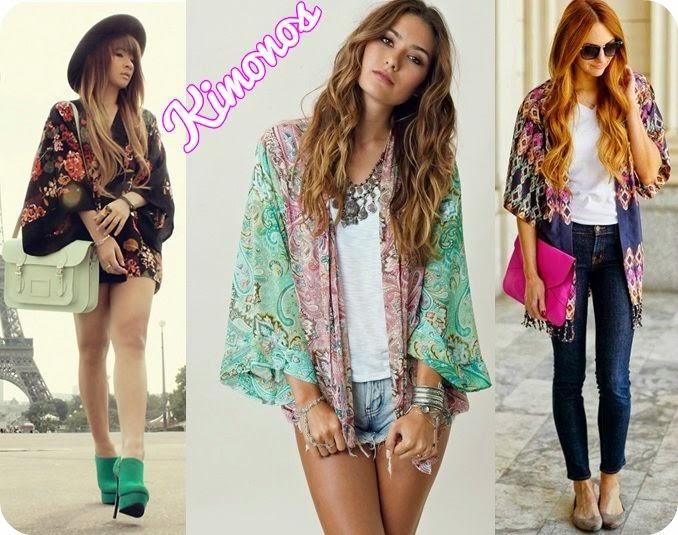 22e1e4e24d A nova tendência dos kimonos vem com tecidos leves estampados e bem  larguinhos (diferente daqueles originais) deixando os looks despojados e  femininos.