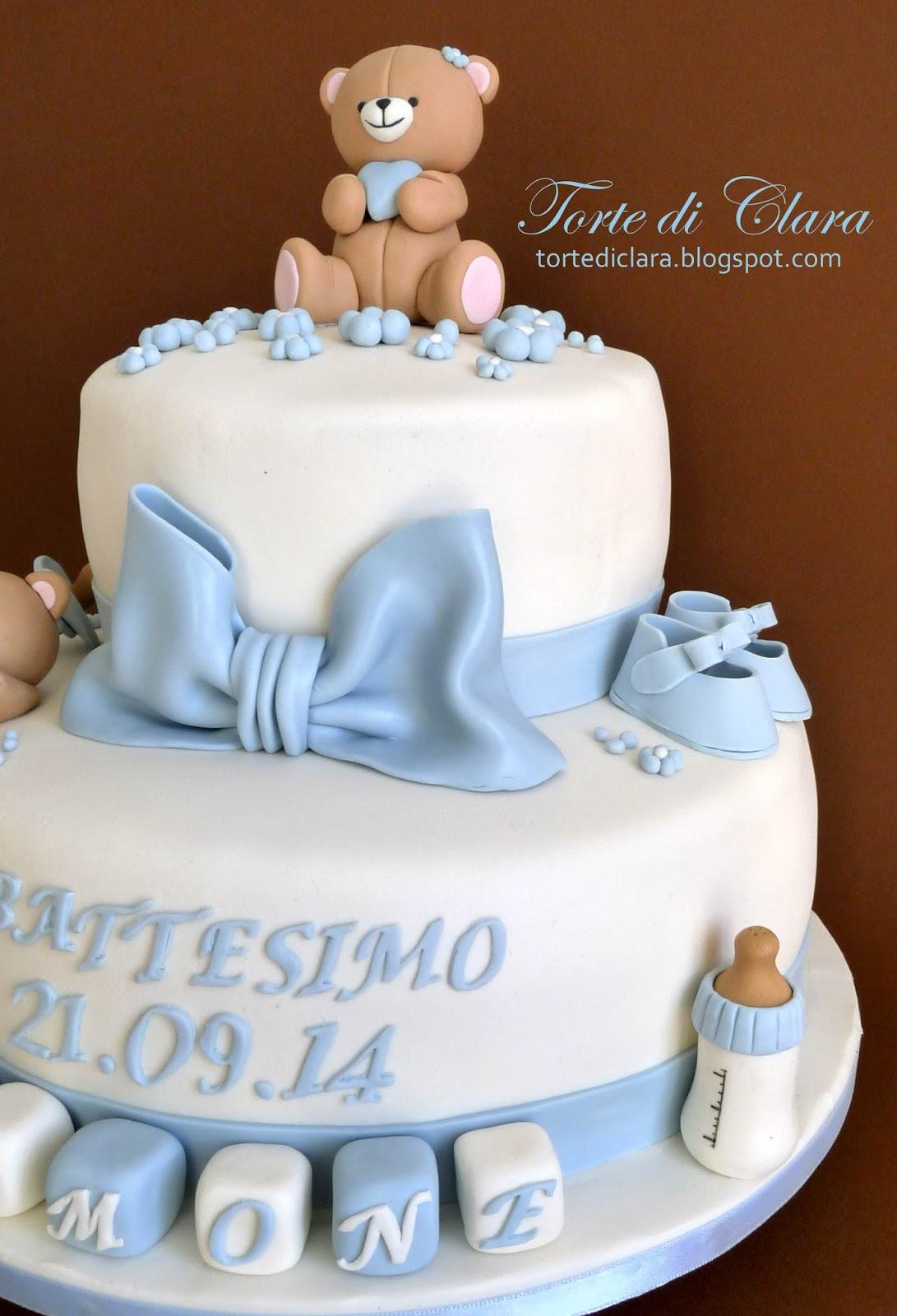 Favoloso Torte di Clara: Torta Battesimo (6) NI45