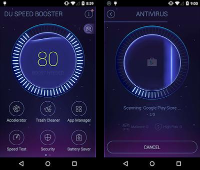 افضل برنامج لتسريع الاندرويد 2019, تطبيق DU Speed Booster & Cleaner للأندرويد, افضل برنامج تسريع جهاز الاندرويد