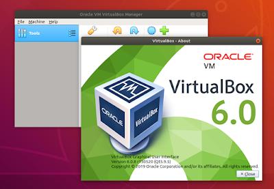 Install Oracle Virtual Box 6.0.8 on Ubuntu 18.04, Ubuntu 18.10 and Ubuntu 19.04