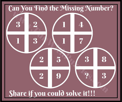 Cross Circle Maths Puzzles