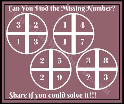Cross Circle Maths Puzzles
