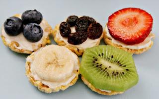 Idea merienda con fruta