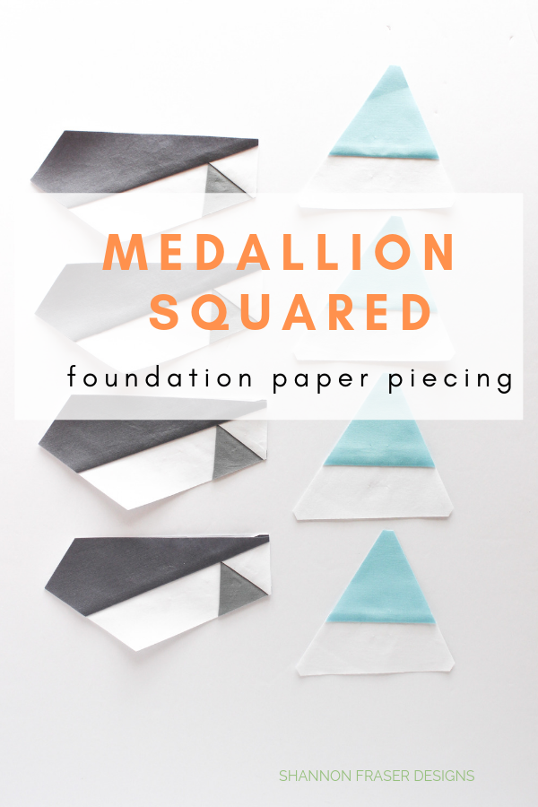 Medallion Squared quilt | Q2 2019 Finish-A-Long Proposed Projects | Shannon Fraser Designs