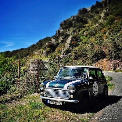 French Village Diaries driving in France, new speed limits Mini Cooper