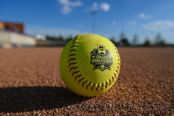 2016 WCWS logo softball at ASA Hall of Fame Stadium