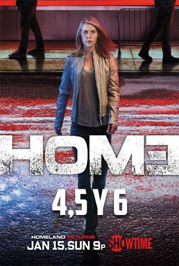 Homeland Temporadas 4, 5 y 6 HD 720p Latino Dual