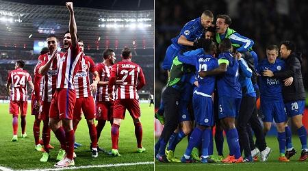Assistir  Atlético de Madrid x Leicester AO VIVO Grátis em HD 12/04/2017- Liga dos Campeões