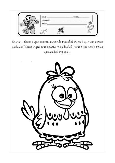 Atividades para Maternal para Imprimir