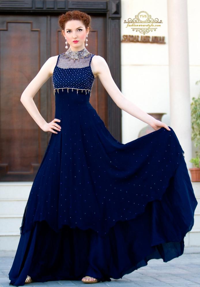 Fnkasia Bridal Dresses by Huma Adnan|Amir Adnan www.fashionwearstyle.com