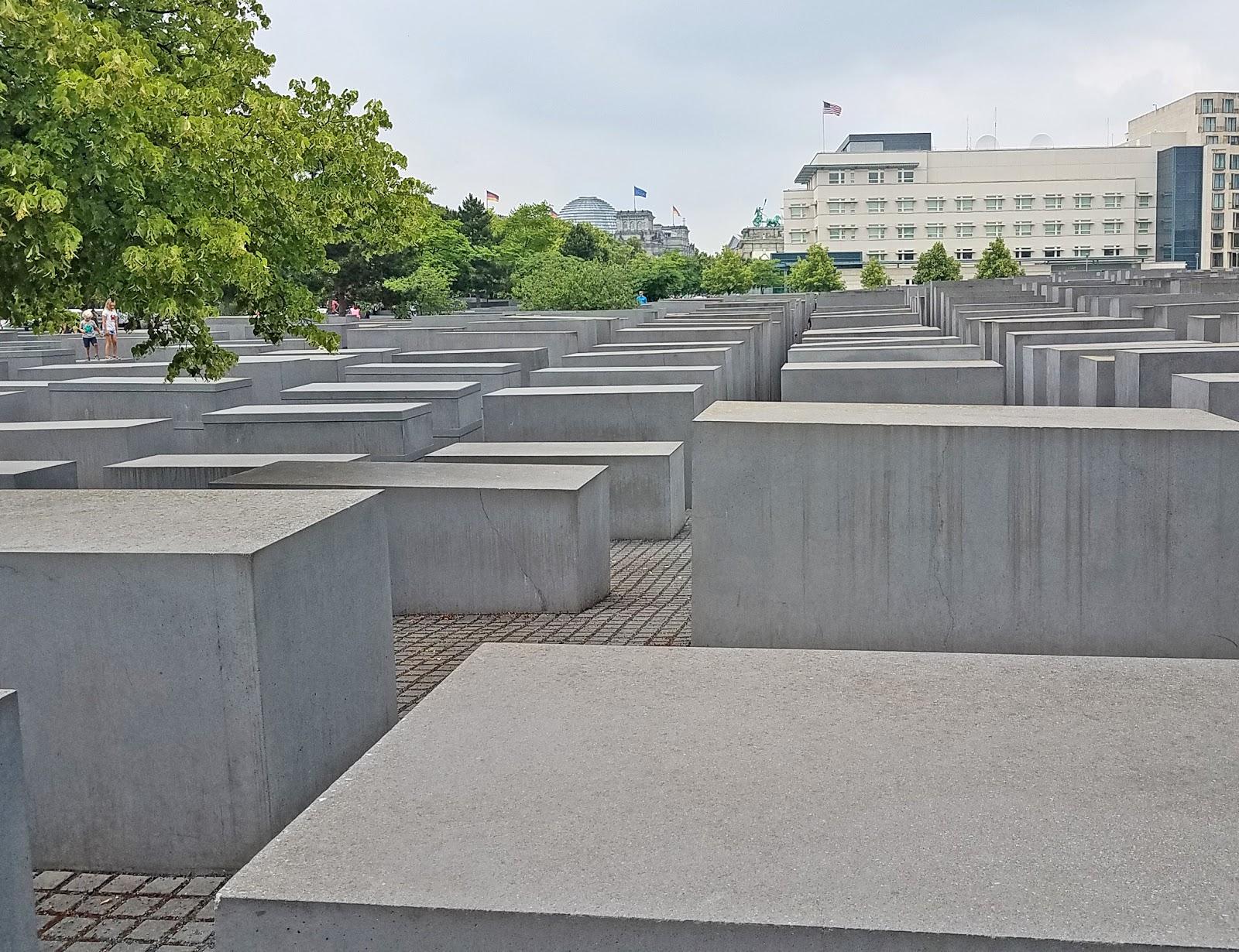 memorial to the murdered jews of europe denkmal fuer die ermordeten juden europas or holocaust memorial 2003 2004 by