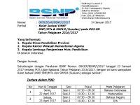 Ralat Jadwal UNKP SMP/MTs & SMPLB (Susulan) POS UN Tahun Pelajaran 2016/2017