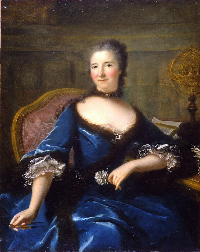Portrait de Gabrielle Le Tonnelier de Breteuil, Marquise de Châtelet, Marianne Loir