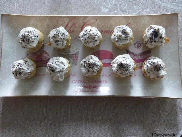 Cupcakes chèvre olive noire