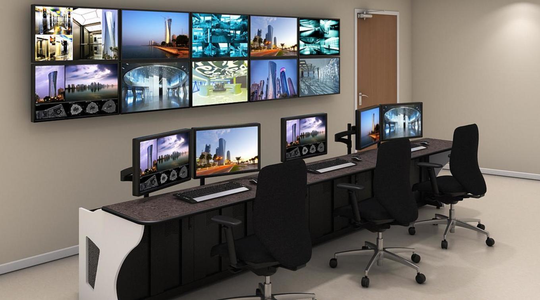 Mobiliario para centros de control for J g mobiliario