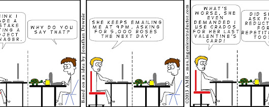 Dating a Project Manager