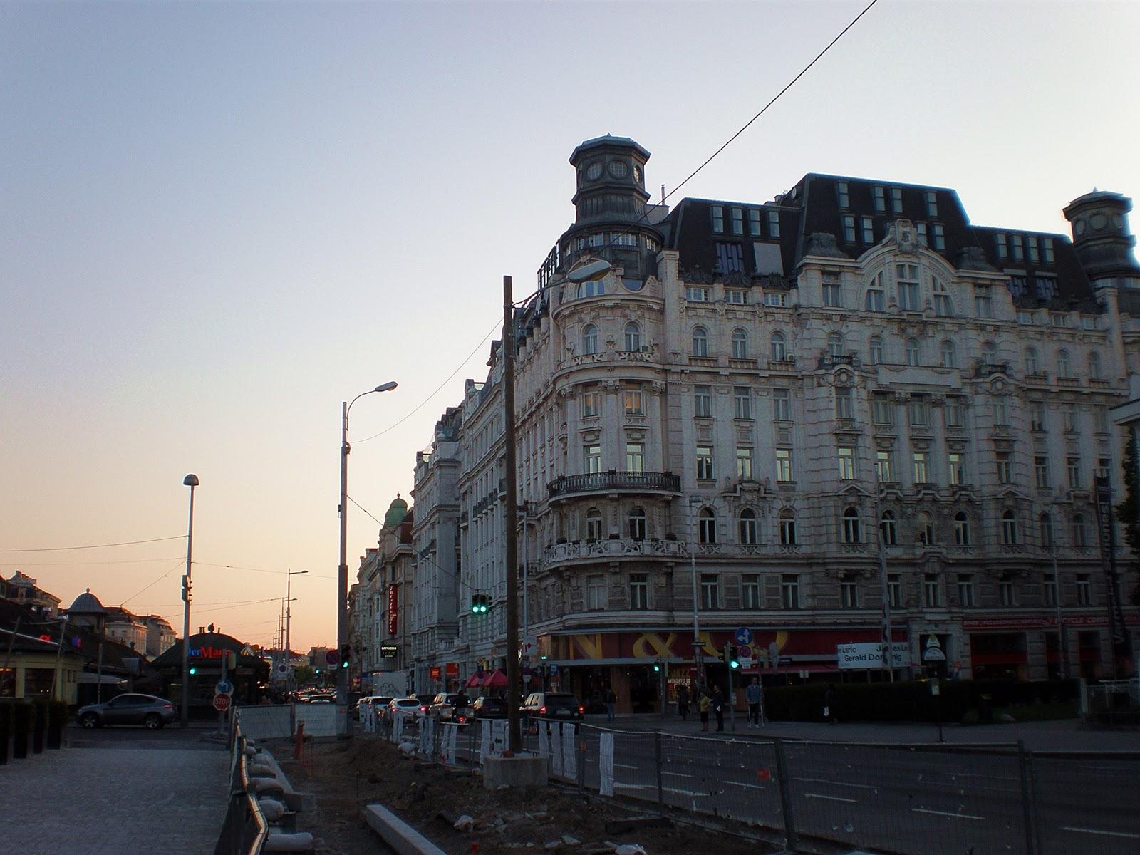 Ulica w Wiedniu