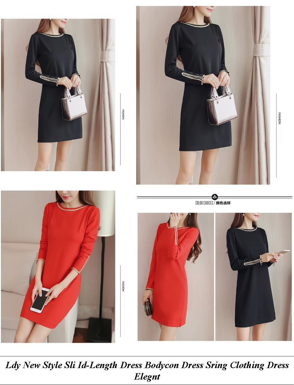 Lack Summer Dresses Uk - Womens Dress Sale Australia - Red White Striped Dress