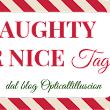 Naughty or Nice Tag by Opticallilluscion