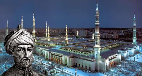 A Mesquita do Profeta ( Túmulo do Maomé ) - Arábia Saudita