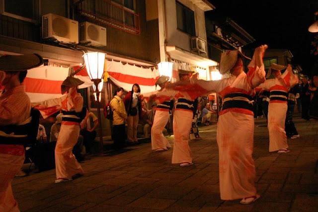 Owara Kaze-no-Bon (dance parade festival), Toyama City, Toyama Pref.