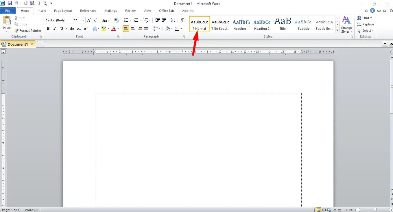 Menyunting Teks Microsoft Word