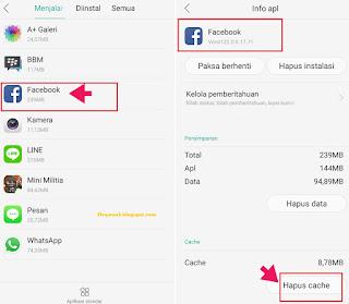 Hapus Cache Aplikasi di Android Smartphone