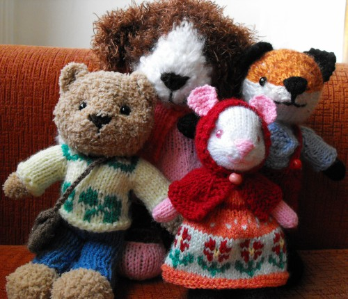 Little Animal Toys - Free Pattern