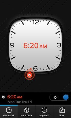 Como todos sabemos tener la alarma configurada en nuestro dispositivo es muy importante ya que muchos de nosotros utilizamos nuestro dispositivos como despertador, Ya muchos tiraron a la basura esos viejos despertadores para darle paso a la alarma de su dispositivo la cual es muy importante para poder despertarnos en el momento que deseamos para no perder ningún evento o para poder realizar alguna actividad reglamentaria, Está guía nos llega por parte de los amigos de CrackBerry en donde nos muestran un poco acerca de como configurar la alarma en nuestros dispositivos BlackBerry 10. Cómo configurar la alarma en tu