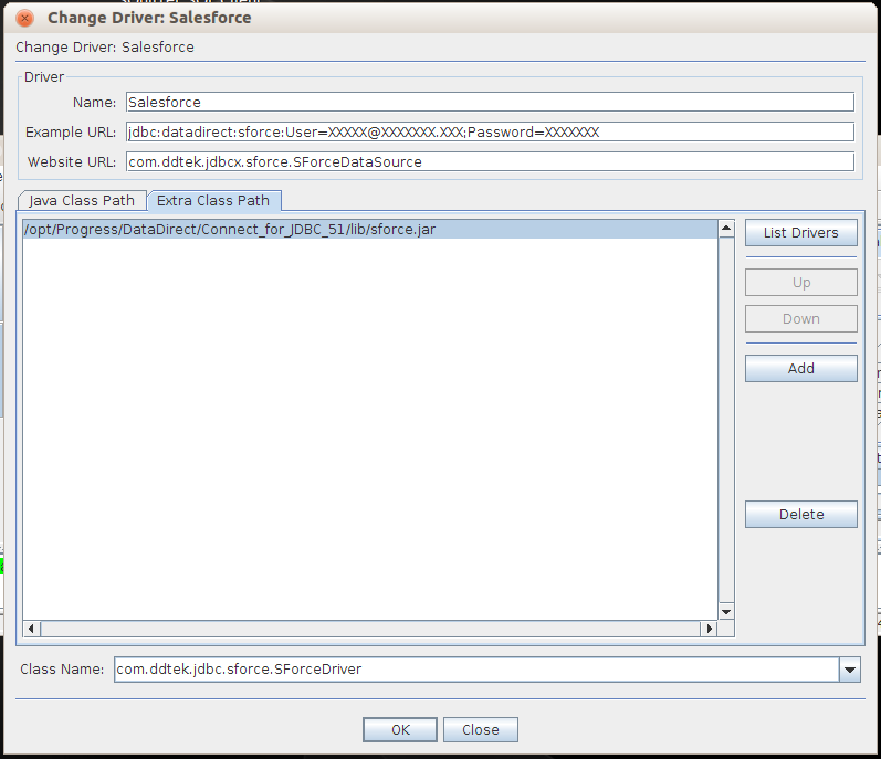 Database Systems: SQL Access to Salesforce data