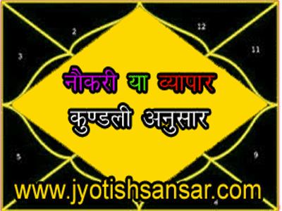 hindi jyotish for career/rojgaar/vyapaar