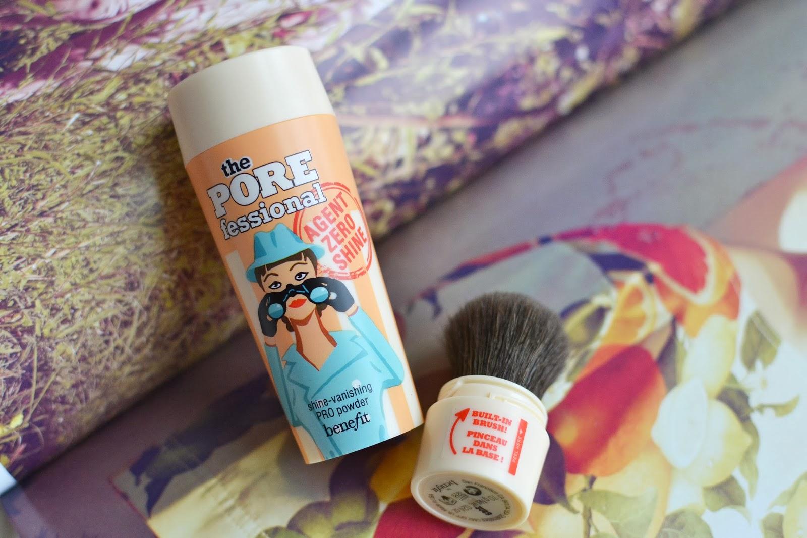 Benefit Porefessional Agent Zero Shine minimizes pores