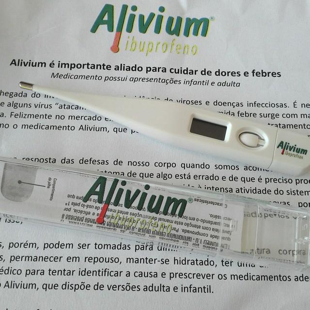 Alivium, Hypermarcas, Medicamento, Febre, Termômetro, Release,