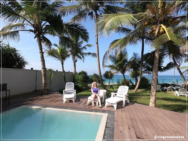 hotel Villa @69 em Induruwa beach